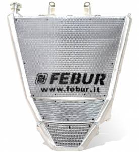 Febur - FEBUR WATER AND OIL RACING RADIATOR (WITH SILICON HOSES AND OIL KIT)* S 1000 RR 2019-2020-2021
