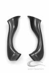 Carbonin - Carbon Fiber Accessories - Carbonin - Carbonin Carbon Fiber Air Box Inlet Tubes 09-16 Suzuki GSXR 1000