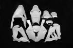 Carbonin - Carbonin Avio Fiber Race Bodywork (OEM Exhaust)10-14 BMW S1000RR