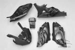 Carbonin - Carbon Fiber - Carbonin - CarboninCarbon Fiber Race Bodywork RACE Exhaust 10-14 BMW S1000RR