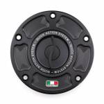 Aftermarket Motorcycle Accessories - Gas Caps - TWM - TWM Quick Action CNC Aluminum Gas Cap for Ducati