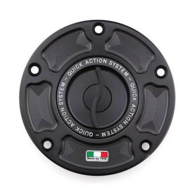 Accessories - Gas Caps - TWM - TWM Quick Action CNC Aluminum Gas Cap for Kawasaki ZX10RR ZX6R H2