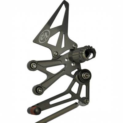 Evol Technology - Evol Technology Rearsets for Kawasaki Ninja 250/300 (2008-Current) - Image 1