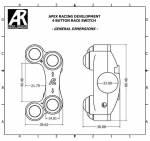 Apex Racing Development - Four Button Race Switch LH For Suzuki Gsxr 1000 2017+ - Image 6