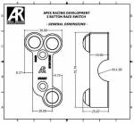 Apex Racing Development - Generic Three Button Motorcycle Switch (Brembo Mount Offset) RH - Image 4