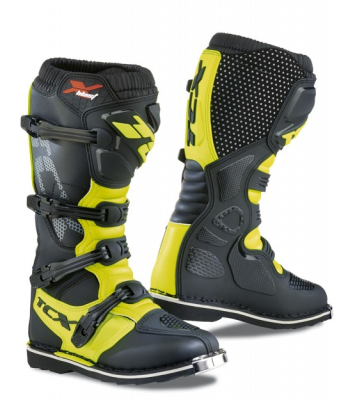 2019 COLLECTION - OFF-ROAD LINE - TCX - TCX X-BLAST BLACK/YELLOW FLUO