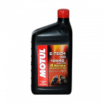 Engine Oil  - MOTUL - Motul - MOTUL E-TECH 100 10W40 SYNTHETIC QUART