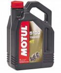 Engine Oil  - MOTUL - Motul - MOTUL 5100-ESTER 15W50 4 LITERS (4)