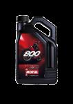 Engine Oil  - MOTUL - Motul - MOTUL 800-2T ROAD 100% SYN. PREMIX LITE