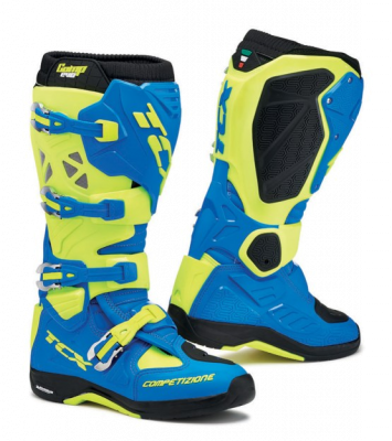 2019 COLLECTION - OFF-ROAD LINE - TCX - TCX COMP EVO 2 MICHELIN BLK/YEL FLUO