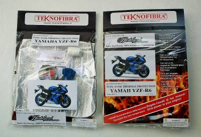 Teknofibra - Teknofibra Fuel Tank Thermal Insulation Kit 2017+ Yamaha R6