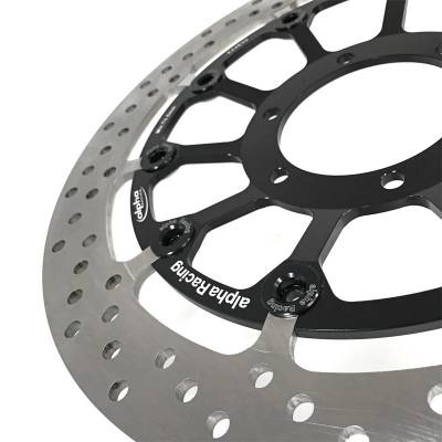 Alpha Racing - Alpha Racing EVO Front brake Rotor 320mx6mm Right BMW S1000RR 2020