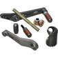 Hand & Foot Controls - Rearsets parts/accessories - Evol Technology - Evol Technology Replacement Toepeg/Stud Kit - Knurled