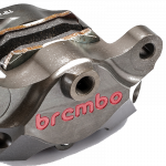 Brembo - Brembo Caliper Rear Axial CNC 84mm Rear Hard Anodized