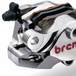 Brembo - Brembo Caliper + Bracket Axial CNC Rear Nickel Suzuki GSXR1000 <09 - Image 4