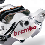 Brembo - Brembo Caliper + Bracket Axial CNC Rear Nickel Suzuki GSXR1000 <09 - Image 2
