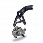 Aftermarket Motorcycle Brakes - Calipers - Brembo - Brembo Caliper + Bracket Axial Cast Rear Titanium