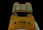 Brembo - Brembo Brake Pad Set Z04 Pad for 2 Pin HPK CNC Caliper - Image 2