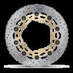 Brembo - Brembo Disc Set 320x5.5mm Supersport HPK Floating Gold - Image 2