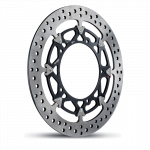 Aftermarket Motorcycle Brakes - Rotors - Brembo - Brembo Disc Set 320x5.5mm T-Drive HPK Floating Black Yamaha