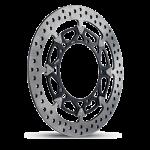 Aftermarket Motorcycle Brakes - Rotors - Brembo - Brembo Disc Set 310x5.5mm T-Drive HPK Floating Black Triumph