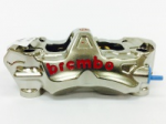 Aftermarket Motorcycle Brakes - Calipers - Brembo - Brembo Caliper EVO Caliper Radial Monobloc 108mm Front Left Nickel