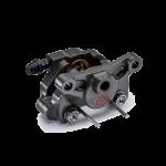 Brembo - Brembo Caliper P2.24 Axial Billet Aluminum 2-Piece  64mm Rear HA