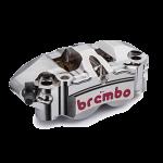 Brembo - Brembo Caliper P4.34/38 Radial Monobloc 108mm Front Left Nickel