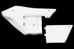 Carbonin - Avio Fiber - Carbonin - Carbonin Avio Fiber Left Side Panel W/ Repos ECU 15-19 Yamaha YZF-R1