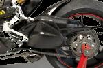 Carbonin - Carbon Fiber Accessories - Carbonin - Carbonin Carbon Fiber  Swingarm Protectors (Silicon Filling) Ducati Panigale 899 / 1199 / 1299