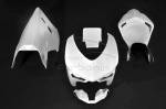Carbonin - Carbonin Avio Fibre Complete Race Fairing Version  (Set Of 5 Pcs With 6 Dzus) Ducati 848/1098/1198