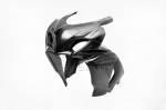 Carbonin - Carbon Fiber - Carbonin - Carbonin Carbon Fiber Upper Race Fairing (6 Dzus) 09-16 Suzuki GSX-R1000