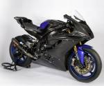 Carbonin - Carbon Fiber - Carbonin - Carbonin Carbon Fibre Left Side Panel (Big Radiator) 2Dzus 2017-2020 Yamaha YZF-R6