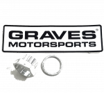Inventory Clearance  - Graves Motorsports - Graves 18mm Lambda Replacement Plug