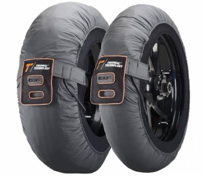 Thermal Technology - Thermal Technology Tire Warmers RACE Silver M Demo Set