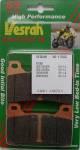 Brakes - Vesrah - Vesrah Brake Pads VD-170SS Honda CBR600RR CBR1000RR