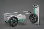 Tools Workshop & Garage - Foldit Paddock Wheel Cart Green