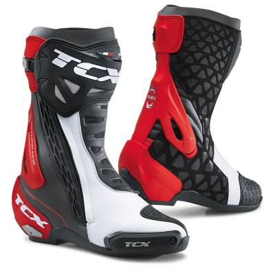 2020 COLLECTION - ROAD RACING - TCX - TCX RT-RACE BLACK/WHITE/RED