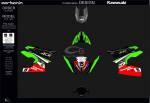 - Carbonin - Carbonin Complete Fairing Decal Replica Kawasaki Ninja 400