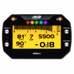 Dash & Data Loggers - Data Loggers - AiM Sports - AiM MXM Motorcycle Data Logging Dash With GPS