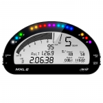 Dash & Data Loggers - Data Loggers - AiM Sports - AiM MXL2 Motorcycle Racing Data Logger