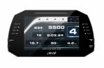 Dash & Data Loggers - Data Loggers - AiM Sports - Aim MXG 1.2 Motorcycle Dash Data Logger