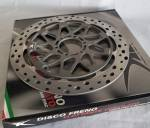 Brakes - Rotors - TK Dischi Freno - TK Dischi Freno EVO Brake Rotors 2020 K67 BMW S1000RR M/Carbon Wheels