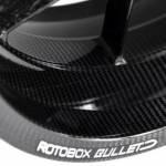 Rotobox - ROTOBOX BULLET Forged Carbon Fiber Front Wheel Ducati Desmosedici RR 1198 /1098/939 SuperSport 848 EVO/998 /748 03+ 999 /749/Monster 821 Monster 1100 03+ /S4RS /S2R Monster /Multistrada 1200 /1260 - Image 3