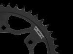 Vesrah - Vortex 45 tooth 520 Steel Rear Sprocket: Black 193AS-45
