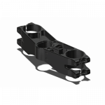 Attack Performance - ATTACK PERFORMANCE BOTTOM CLAMP, GP, TRIUMPH 675 06 - , BLACK - Image 1