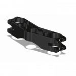 Chassis & Suspension - Triple Clamps - Attack Performance - ATTACK PERFORMANCE BOTTOM CLAMP, GP, TRIUMPH 675R (OHLINS) 11 - , BLACK