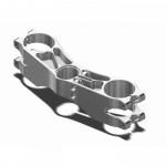 Chassis & Suspension - Attack Performance - ATTACK PERFORMANCE BOTTOM CLAMP, RADIAL OHLINS, 210 X 58 (REAR STEM PINCH)