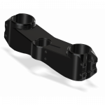 Chassis & Suspension - Triple Clamps - Attack Performance - ATTACK PERFORMANCE BOTTOM CLAMP, Z6R 09 - , BLACK