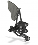 Attack Performance - ATTACK PERFORMANCE  REAR SET KIT, GSXR600/750 06-10 , W/SHIFT LEVER, BLACK - Image 4